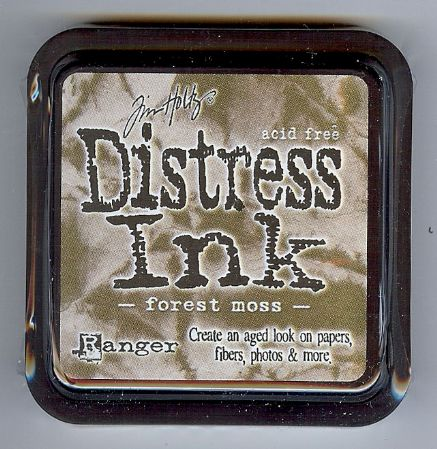 Tim Holtz Distress Ink Pad from Ranger - Forest Moss